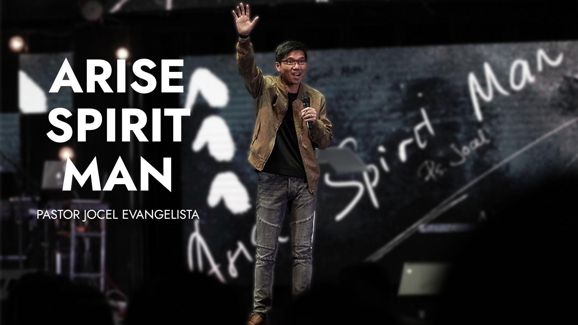 ARISE SPIRIT MAN Image