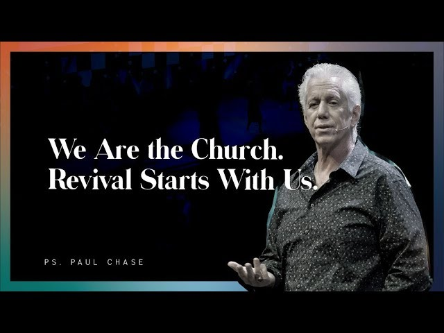 WE ARE THE CHURCH, REVIVAL STARTS WITH US Image
